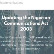 Nigerian Communications Act 2003